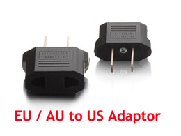 Travel Europe to USA Power Plug Adapter Adaptor Convert Convertor Eu To Us 1000pcs  Lot Express free shipping