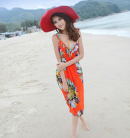 Wholesale Summer Models Harness Dress Beach Dress Beach Towel Sexy Scarf Six Colors Sarongs Hot Sale