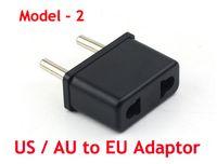 Wholesale Travel Charger Converter USA US To EU Europe European Round Pin Travel Adapter Plug Power Express