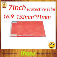 Wholesale High Quality For TABLET PC Screen Protector inch Screen Protector cut off inch Screen Protector Film