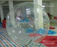 Wholesale New m diameter mm thickness PVC OR TPU inflatable Zorb Water Walking Ball walk water TIZIP zippe