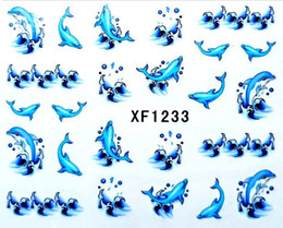 Wholesale Hot New Fashion Watermark Nail Art Stickers Full Nails Tips Decals Nail stickers