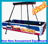 Wholesale The Latest Design Air Hockey Game Machine Space Air Hockey Table Arcade Games Amusement Machine Ice Hockey Shooting Machine