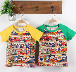 Wholesale 2013 Fashion Children s T shirts baby top Summer new arrived baby boy clothes Good quality t shirt