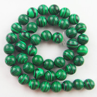 Wholesale DL1690 strand Malachite mm loose bead inch