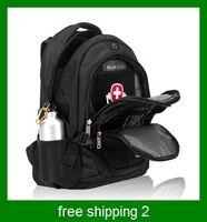 Wholesale Canvas brief bag laptop bag travel sports preppy style student school bag vintage backpack
