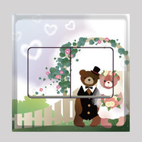 Wholesale Colorful Sweetheart Art Decals Switch Stickers Vinyl Sticker Wall Decoration FM026
