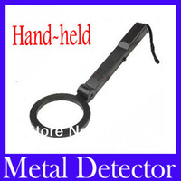 Wholesale Hand held metal detector TS80 with Alert audio MOQ