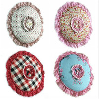 Wholesale Home Decro Circular Size Flowers Lace Cloth Electric Fan Cover Dust proof Cover