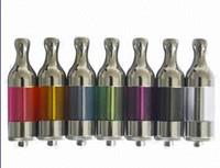 Replaceable 2.4ml 2.4ml Hot sale protank clearomizer refill tank glass vaporizer ego 510 thread 2.4ml capacity electronic cigarette atomizer prex protank clearomize
