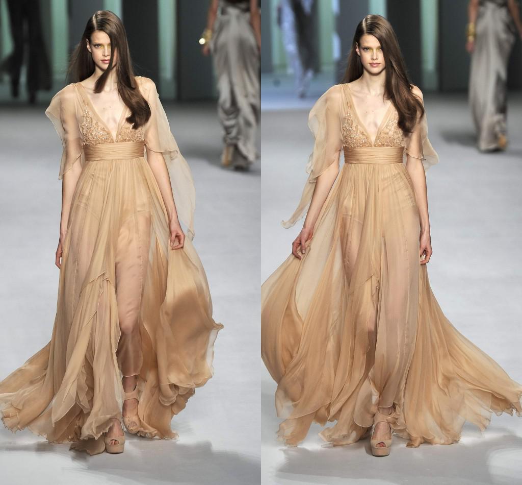 Beautiful Elie Saab Gown Sale Illustration - Wedding and flowers ...