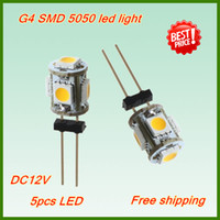 Wholesale G4 LED bulbs led smd G4 LED V car light DC Warm White and Cool White color K