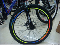 Wholesale Reflective stickers bike bicycle wheel stickers Motorcycle Wheel Rims Reflective Stickers many color