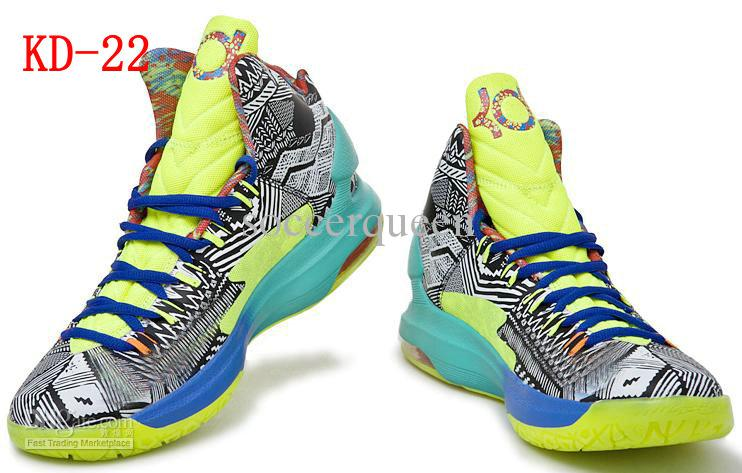 Hotsale Air Basketball Shoes For Men S Kd V Sports Boots Mid Cut ...