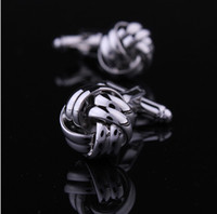 Wholesale metal twisted silver best price man jewelry french shirt men shirt cuffs cuff links link