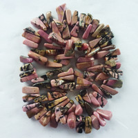 Wholesale DL257 strand Rhodonite chip loose bead inch