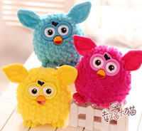 Wholesale HOT Hasbro Furby Plush Toy Owl Pendant Jushi Sucker Cartoon Kids Creative Gifts quot Color