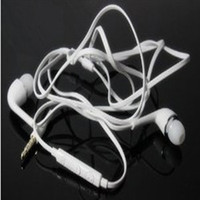 Wholesale New In Ear Stereo Earphone Headphones Earphones with Mic Remote Volume Control for Samsung Galaxy S4 i9500