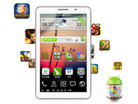 Wholesale FREE DHL inch screen P1000 MTK6515 android smartphone tablet phone can call bluetooth double card double stay