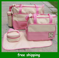 Wholesale Hot Sales diaper bag mummy packet baby bags nursery package Mama packs Gifts set