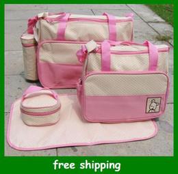 Wholesale Hot Sales diaper bag mummy packet baby bags nursery package Mama packs Gifts set