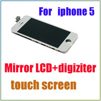 Best selling!!!mirror LCD touch screen digiziter for iphone ...
