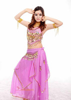 Belly Dancing indian clothes - Belly dance set belly dance set costume indian dance clothes costume rotating pants set C1091