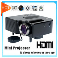 Wholesale Mini projector LED Digital Video Game Projector Native320 X HDMI VGA AV USB SD card input