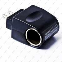 Wholesale 12V Household Car Charger Cigar Cigarette Lighter V V AC to V DC EU Car Power Adapter GYYB50
