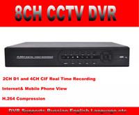 al por mayor red dvr d1-960h Full D1 8CH CCTV DVR Grabador de Seguridad DVR 1080p HDMI independiente DVR remoto vista Android Iphone Red HVR NVR DVR 3 en uno
