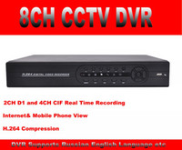 Wholesale 960h Full D1 CH CCTV DVR Recorder Security DVR p HDMI Standalone DVR Remote view Android Iphone Network HVR NVR DVR in one