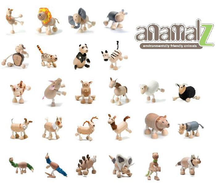 2017 Zoo Characters Anamalz Dolls Elephant Kangaroo Tiger Lion ...