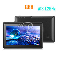Wholesale Andriod inch a13 q88 Tablet pc MB GB Capacitive Touch Screen GHZ M GB more better High Quality