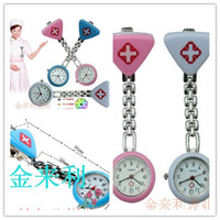 Wholesale Colorfull triangle nurse watches doctor watches nurse watch