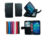 For Samsung active credit card - MMT Wallet Credit card Stand Leather Case For Samsung S3 S4 S3 MINI S4 MINI S4 Active core i8262 Express i8730 Ativ S I8750