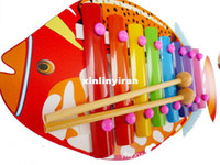 Wholesale The Sounds Wooden Toy Tropical Fish Wooden Children s Educational Toys Good