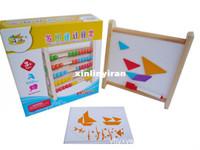 Wholesale Multipurpose Computation Frame Wooden Educational Toys Children s Good Gift