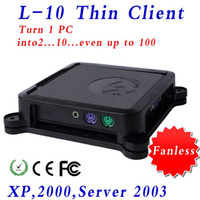Wholesale High quality thin client ncomputing net computer XCY L support Windows XP Windows Windows
