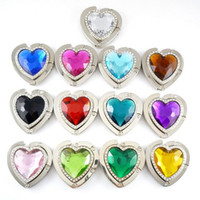 Wholesale ON SALES Heart Design Bag Hanger Handbag Hanger with Velvet Bag