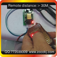 Wholesale production of high quality DC12V Wireless Remote Control Switch distance penetration a remote control receiver board