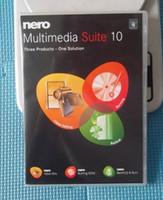 Wholesale Nero Multimedia Suite Platinum Nero9 Nero10 for Windows English full version DVD box