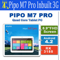 Wholesale PIPO M7 PRO M7pro G version RK3188 quad core inch tablet PC Android G GB PLS Screen Bluetooth GPS Dual Camera