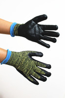 Wholesale Camouflage Kevlar Cut resistant gloves with Nitrile coating EN388 NO