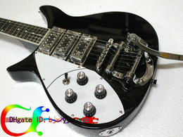Custom Left hand guitar Black 325v59 Short Scale 6 String Electric guitar HOT SALE electric guitar OEM guitar