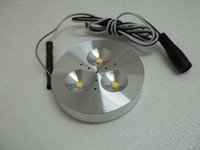12v puck led light - HOT selling input DC v W LED Puck Cabinet Light LED spotlight non power