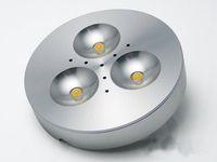 Wholesale Input v V W LED Puck Cabinet Light LED spotlight with led driver