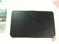 Wholesale Leather case with usb keyboard bracket for inch Apad epad PC Tablet Netbook