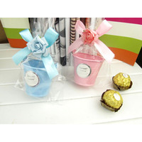 tin buckets pails - Luxury Mini Tin Bucket Pail Wedding Favor Candy Box Case Storage Wedding Party Gifts DIY Make Yourself it is easy