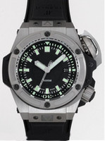 Wholesale Factory Seller Luxury New In Box Men s King Power mm Rubber Diver Oceanographic Stainless Steel Mens Automatic Sports Wrist Watches
