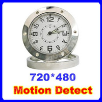 None   720*480 Table Clock Spy DV Security video Camera 30FPS Mini Webcam DVR Video Recorder Audio With Motion Detection